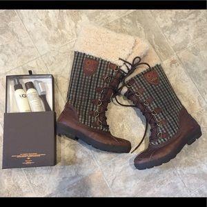 UGG Edmonton boots sz 8 excellent condition